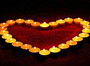 свещи-във-формата-на-сърце