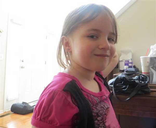 8 годишно момиче