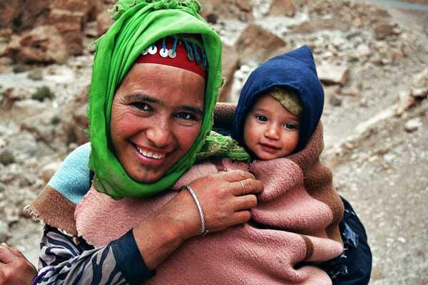 Мароко-майка-и-дете