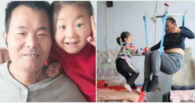 китайско-момиче-баща