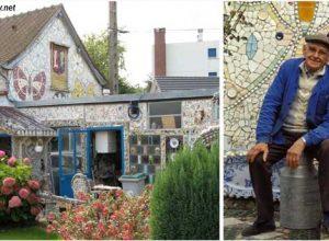 Във-Франция-има-къща,-която-е-направена-от-счупени-съдове.-Ето-как-изглежда