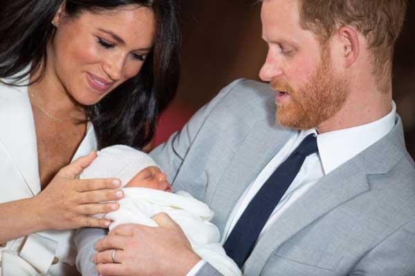принц-Хари-Меган-Маркъл-и-бебето-им