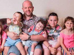 Мъж-осиновил-5-деца-инвалиди-и-ги-отглежда-всичките-сам