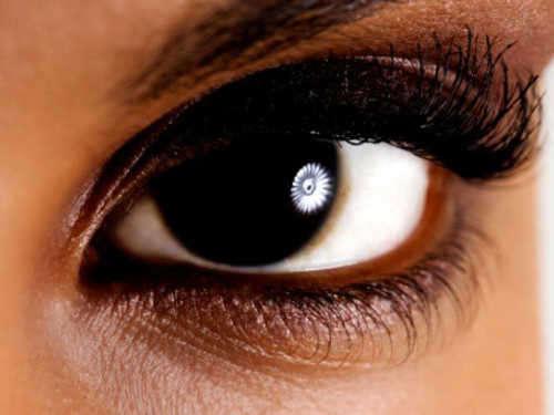 Енергията на кафявите очи
