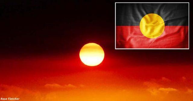 Пожарите превърнаха небето на Австралия във флага на избитите аборигени