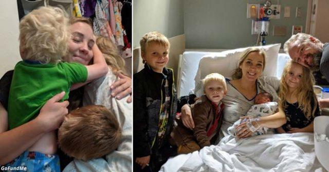 Майка починала след раждането и дарила 12 от своите органи