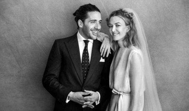 Как изглежда сватбената рокля на най-богатата булка на нашето време