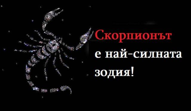 Скорпионът е най-силната зодия! Ето защо това е така: