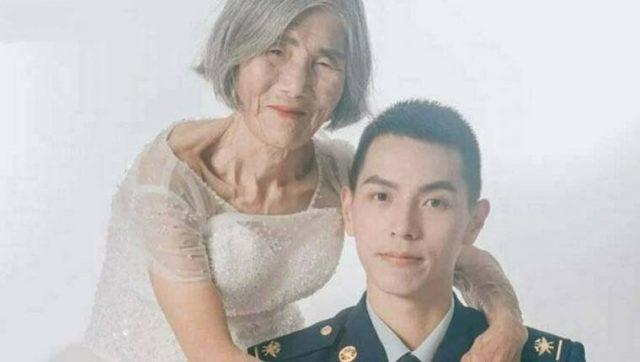 Историята на необичайна двойка: женихът е на 24, булката е на 85
